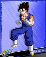DBkai card #6 Vegetto by Bejitsu