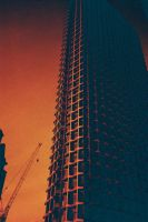Centre Point - Redscale by willmeister42