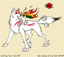 Ammy pose by Saissu