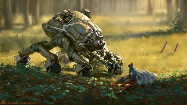D.O.G. Days - Forest Crawler by mrJB27