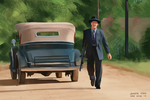 Another Lawless movie scene study by SamYangArt