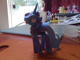 Princess Luna Papercraft by FyreWytch