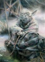 Yoda by Stungeon