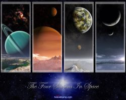 The Four Seasons in Space by hoevelkamp