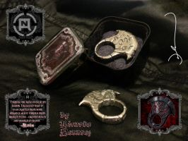 Vorador Signet Ring by Infernauta