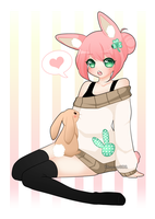 Cotton tail by Pikapaws