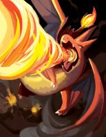 Mega Charizard by suzuran