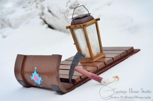 Frozen - Young Kristoff's Sled by Jbressi