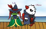Pirate Pack: Lily And Oliver by dogberman