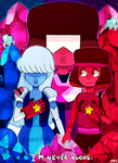 Ruby and Sapphire by Jerymi