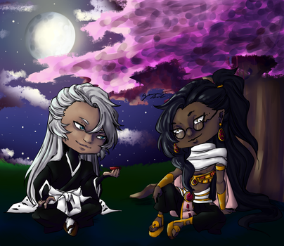 Comm -- Aloisius And Masaaki by Gourmet-Fool