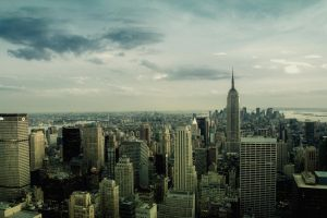 View from the Top Of The Rock by Chantalp73