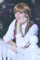 Christmas Anna by Tinka Cosplay by NostalchicksCosplay