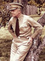 Dwight D. Eisenhower by KraljAleksandar