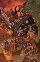 Deathstroke Colored by minsan