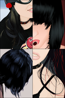 Details of The Hair by webthi