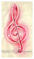 treble clef tattoo design by jacksonmstattoo