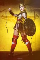 Wonder Woman - DC Comics - Injustice Gods Among Us by ShashinKaihi