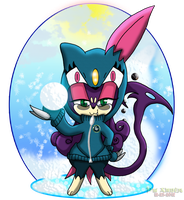 PKMNC - Snowball Wars - Ready and Willing! by Powerwing-Amber