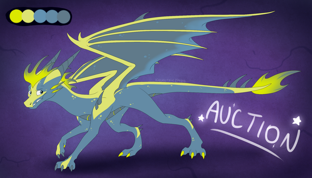 Dragon Adoptable Auction - CLOSED by IcelectricSpyro