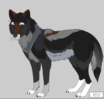 Wolf Adoptable 2 - Sold by Broadwinger