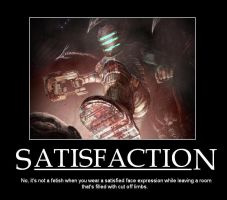 Dead Space - Satisfaction by PrinceRoy1990