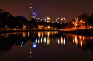 City by the Yarra by abhenna