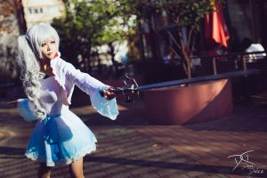 It's a combat skirt! - Weiss Schnee by dolcedon