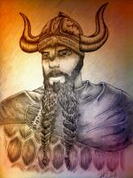 The viking by labeled-black