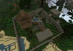 my minecraft house 1 by Mangabot