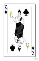 King of Clubs Card by smallvillereject