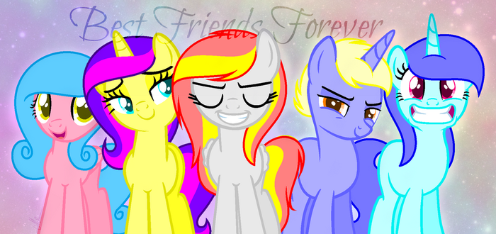 Best Friends Forever (With text and effects) by Starlight12012003