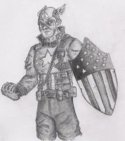 Captain America by Lumit