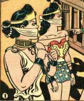 Wonder Woman Gagged 2 by detectivesambaphile