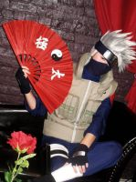Kakashi new weapon by Suki-Cosplay