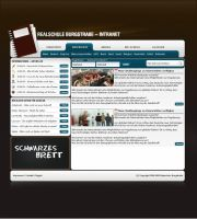 Intranet Schoolhomepage by hNsM