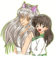 Youko Kurama - Kagome In Color by usagisailormoon20
