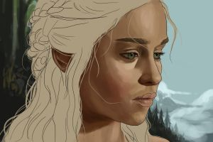 WIP - Daenerys - Queen of Fire and Blood by Ren-Li
