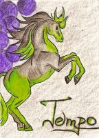 ACEO for Clopina by HarpyCelene