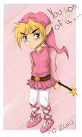 Link in Pink by rhi-mix