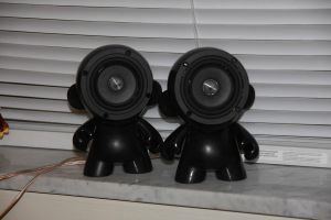 Munny Speakers by Mixels