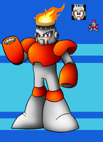 DLN. 007 Fire Man by SonicKnight007