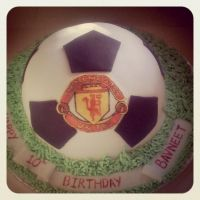 Football cake by AdaBerry