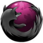 pink and black firefox by vector-assassin