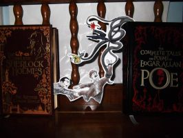 Books come to life by InfamouslyDorky