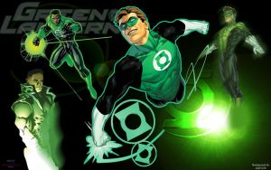 Green Lantern Family by Xionice