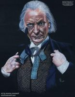 The First Doctor - William Hartnell by The-Art-of-Ravenwolf