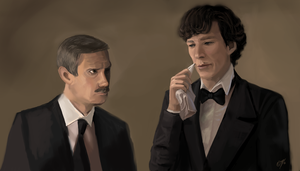 BBC Sherlock and John - Does your rub off too by DreamyArtistRoxy3