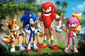 Sonic Boom Official Design by FrostTheHobidon
