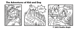 Kid And Dog - 003 by Paladin-Ciel